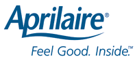 Aprilaire heating and cooling. Feel Good. Inside.