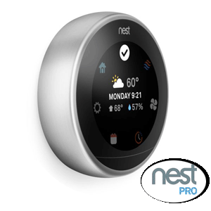 Nest wifi internet connected thermostats, the brighter way to save energy!